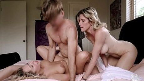 Escort Documentary for a Busty Milf - Double with Cory - Nikki Brooks